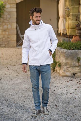 Heren jacket capuchon softshell lemon&soda 3629 - kleding-lemon&soda 3629