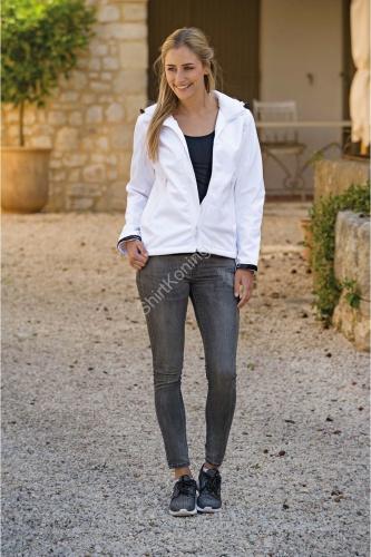 Dames jacket capuchon softshell lemon&soda 3627 - kleding-lemon&soda 3627