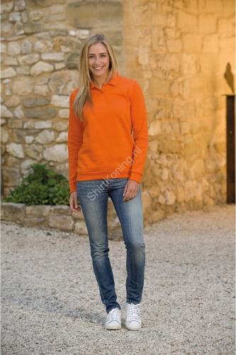 Polosweater dames mix lemon&soda 3209 - kleding-lemon&soda 3209