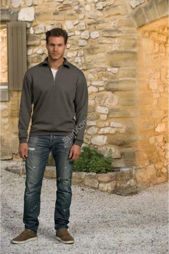 Heren zip sweater mix lemon&soda 3231 - kleding-lemon&soda 3231