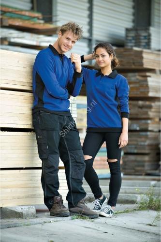 Polosweater contrast mix lemon&soda 4700 - kleding-lemon&soda 4700